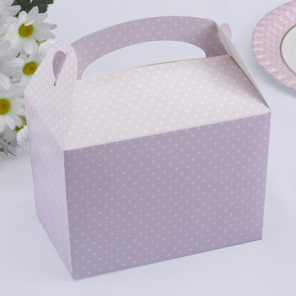 Baby Shower Pudełka Na Ciasto Maluszek Różowe 7099045410