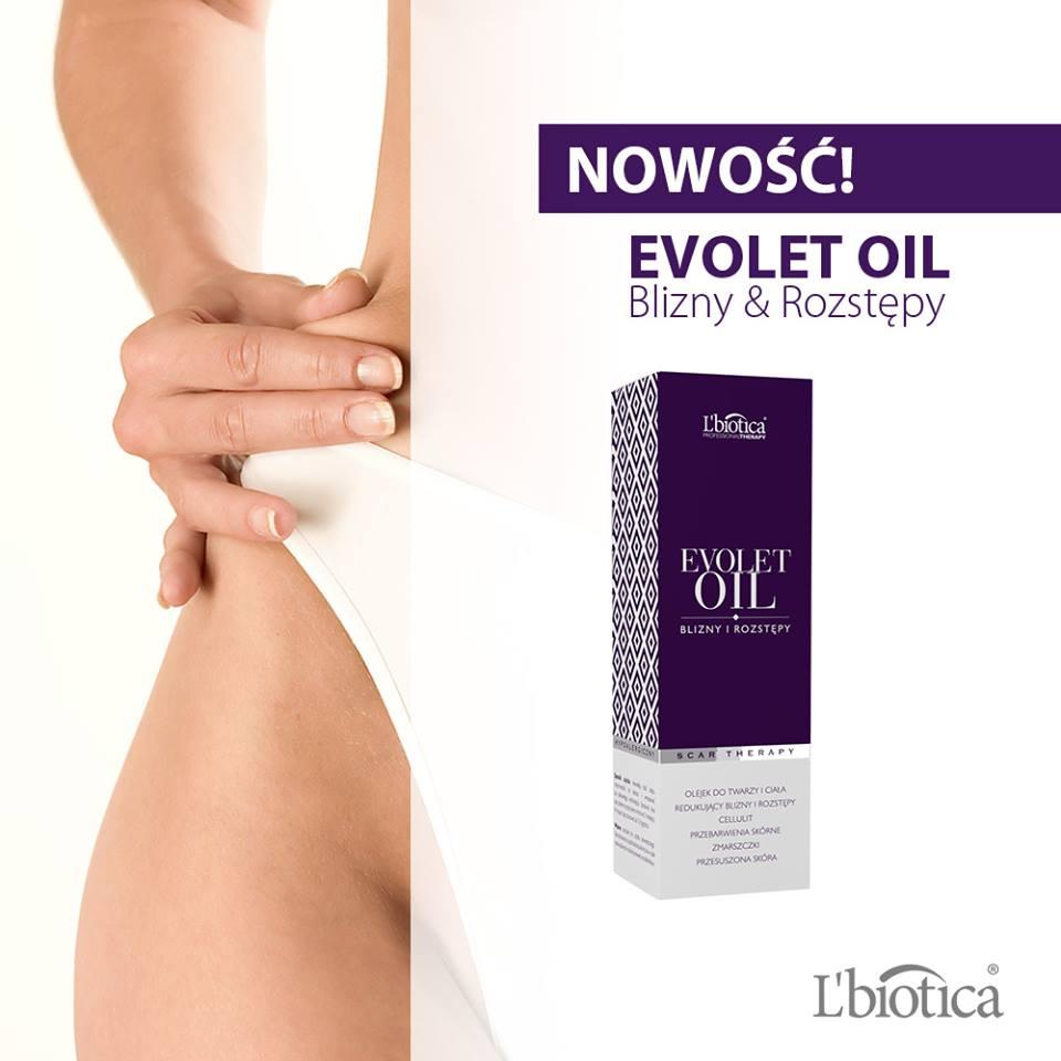 e5fe7dfdf7b6de L'Biotica Evolet Oil olejek na blizny i rozstępy - 7445334379 ...