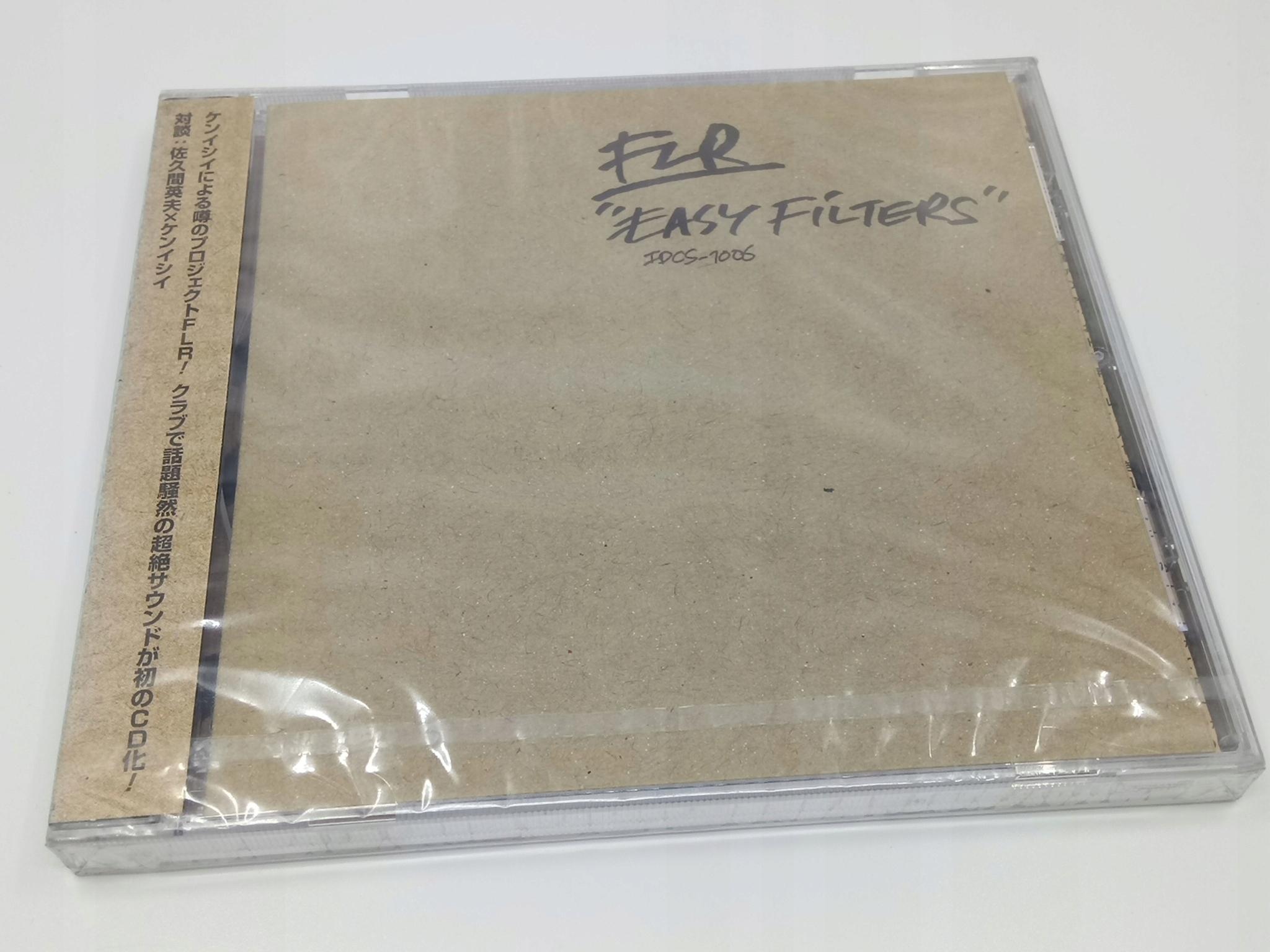 FLR - Easy Filters CD ALBUM JAPAN TECHNO