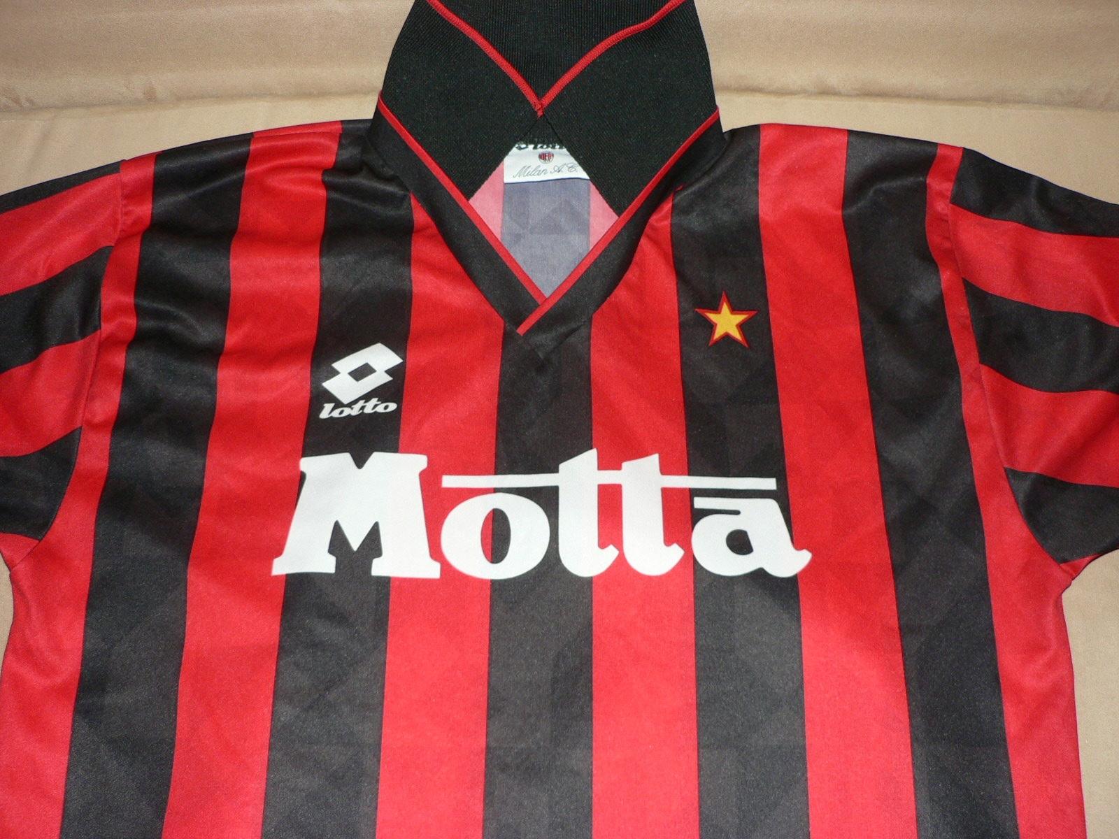 Koszulka AC MILAN KAPPA RETRO 9394 L XL MEDIOLAN
