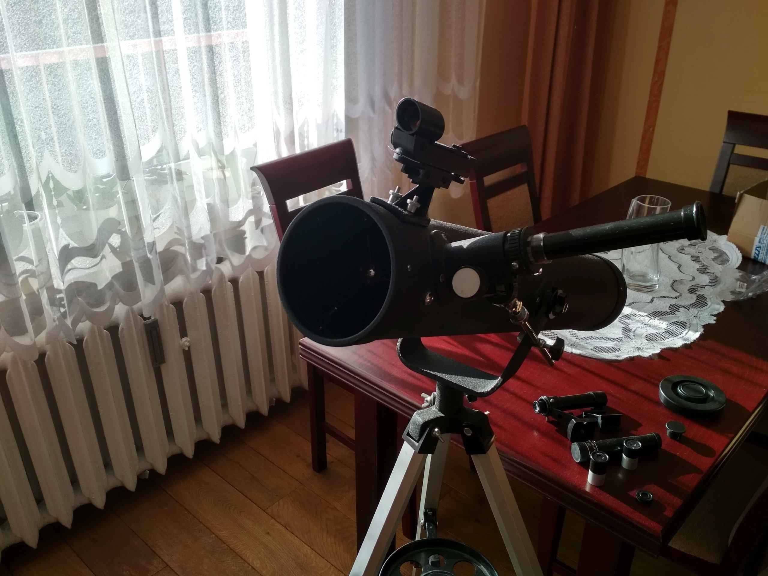 Teleskop newtona zwierciadlany 7209361247 oficjalne archiwum allegro