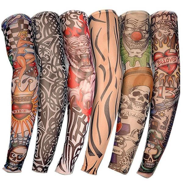 6 Sztuk Tatoo Tatuaże Tatuaż Rękaw Ręka Rockmana 6876619828