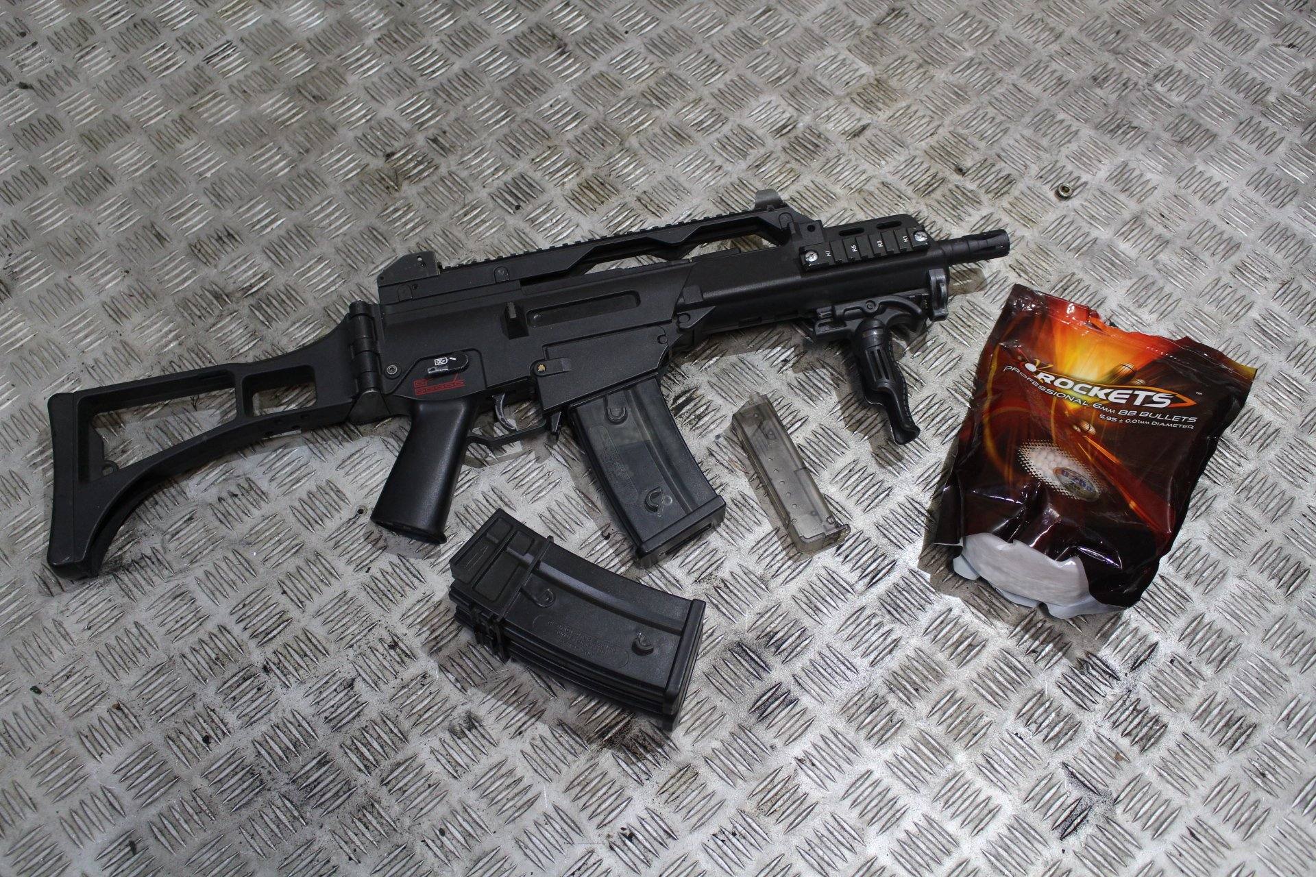 REPLIKA ASG G36C Classic Army - tuning 390FPS BCM