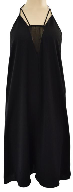 kZ1731 H&M czarna sukienka 46