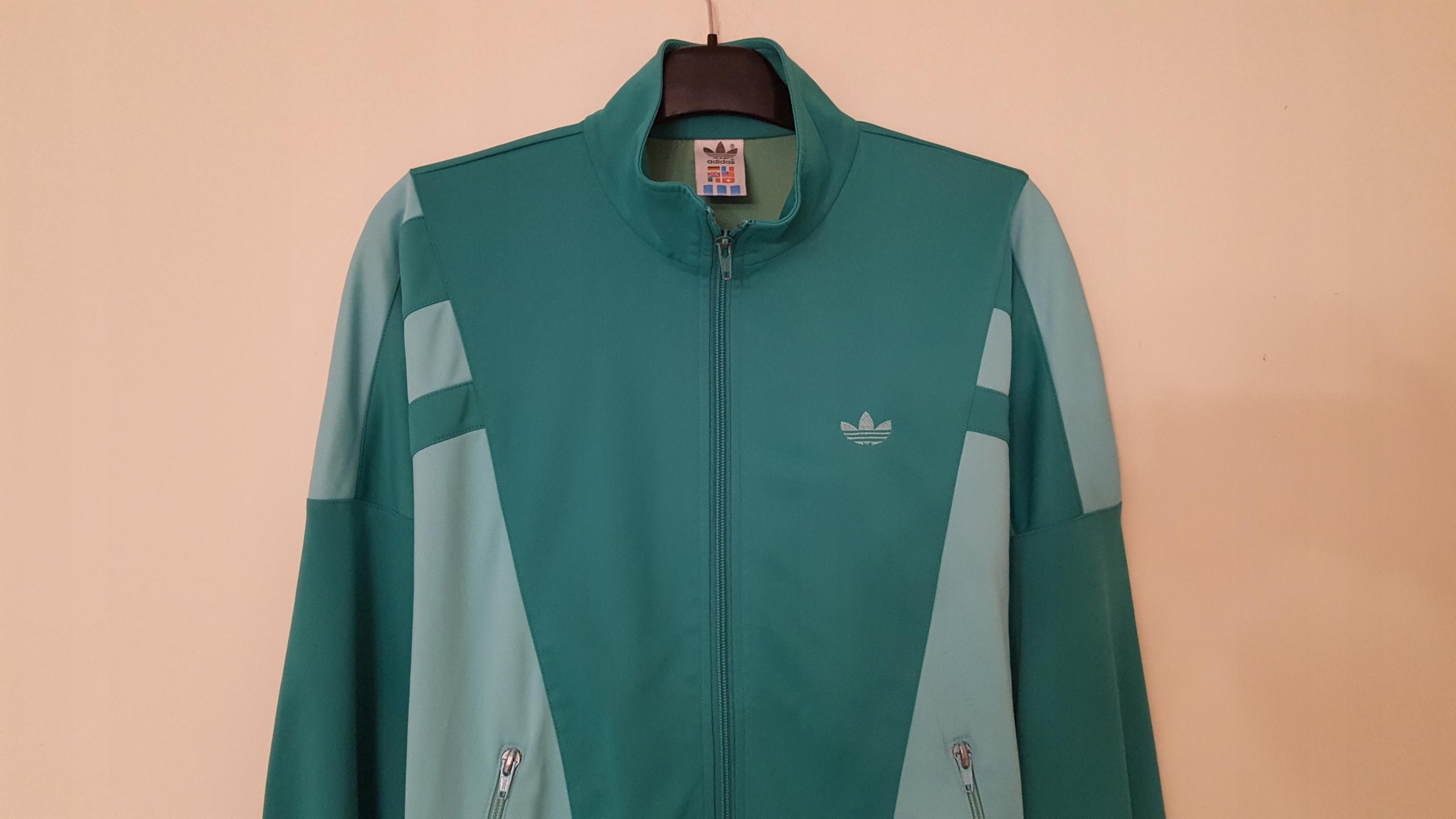 klasyczne dopasowanie świetne dopasowanie tani Bluza damska zielona Adidas Originals r. M