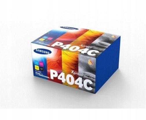 Samsung CLT-P404C 4-pk CYMK Toner