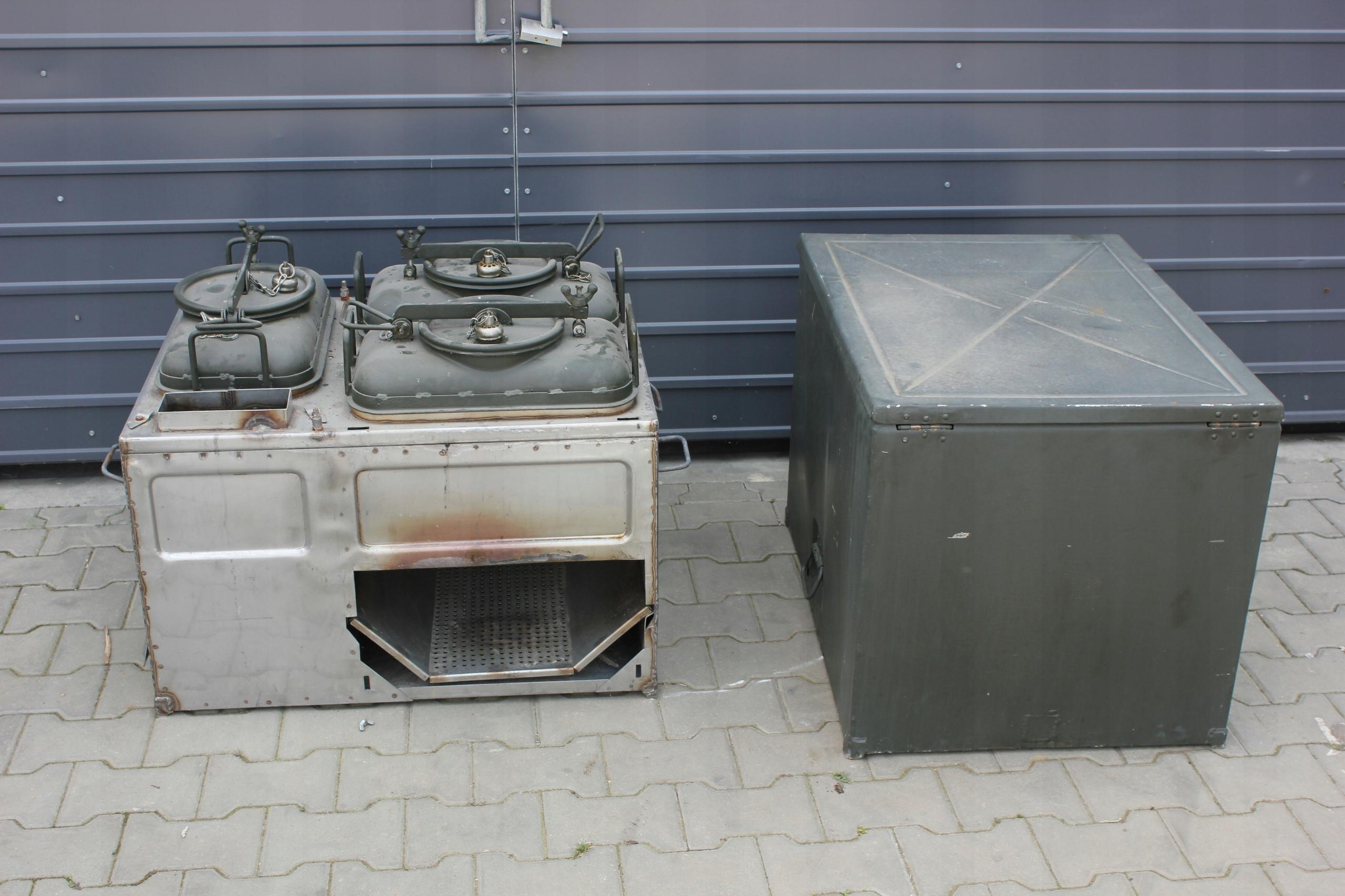 Kuchnia Polowa Kp 75 Nowa Oryginal Wp Garkuchnia 7560206581