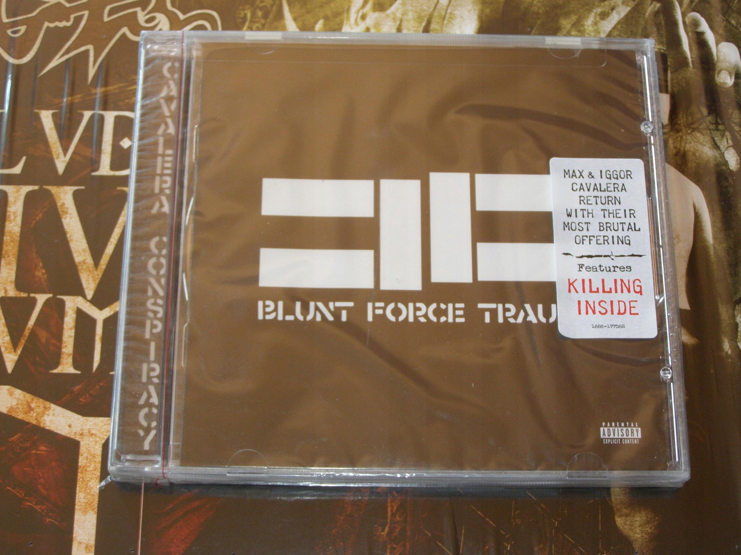 CAVALERA CONSPIRACY - Blunt Force Trauma CD