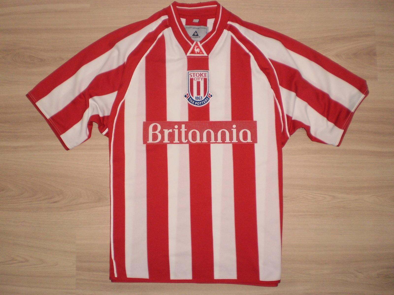 Koszulka Stoke City Le coq sportif r. 38/40