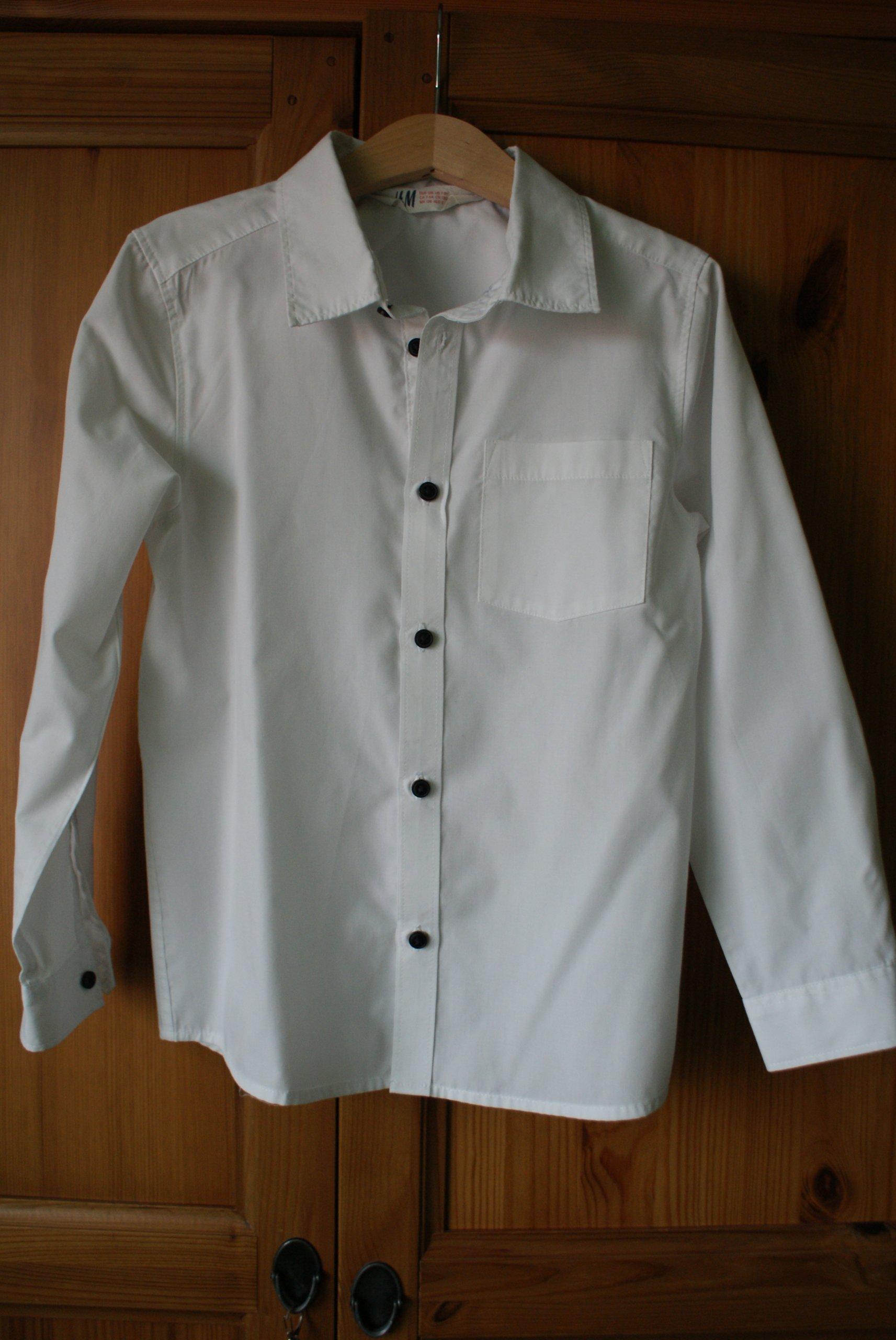 koszula dla chłopca H&M 128 cm 7328420474 oficjalne  vt44z