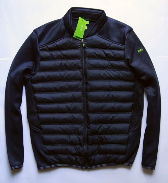 deb10b5b7f85b kurtka pikowana przejściowa HUGO BOSS GREEN XL - 7605451867 ...