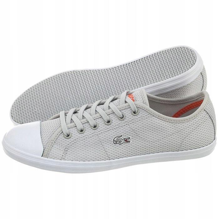 eed6c6f378318 Buty Damskie Trampki Lacoste Ziane Sneaker Szare - 7295169047 ...