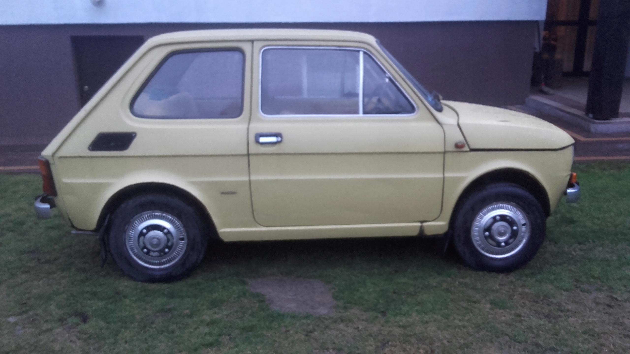 Fiat 126p A1 wersja Specjal z 1978 roku
