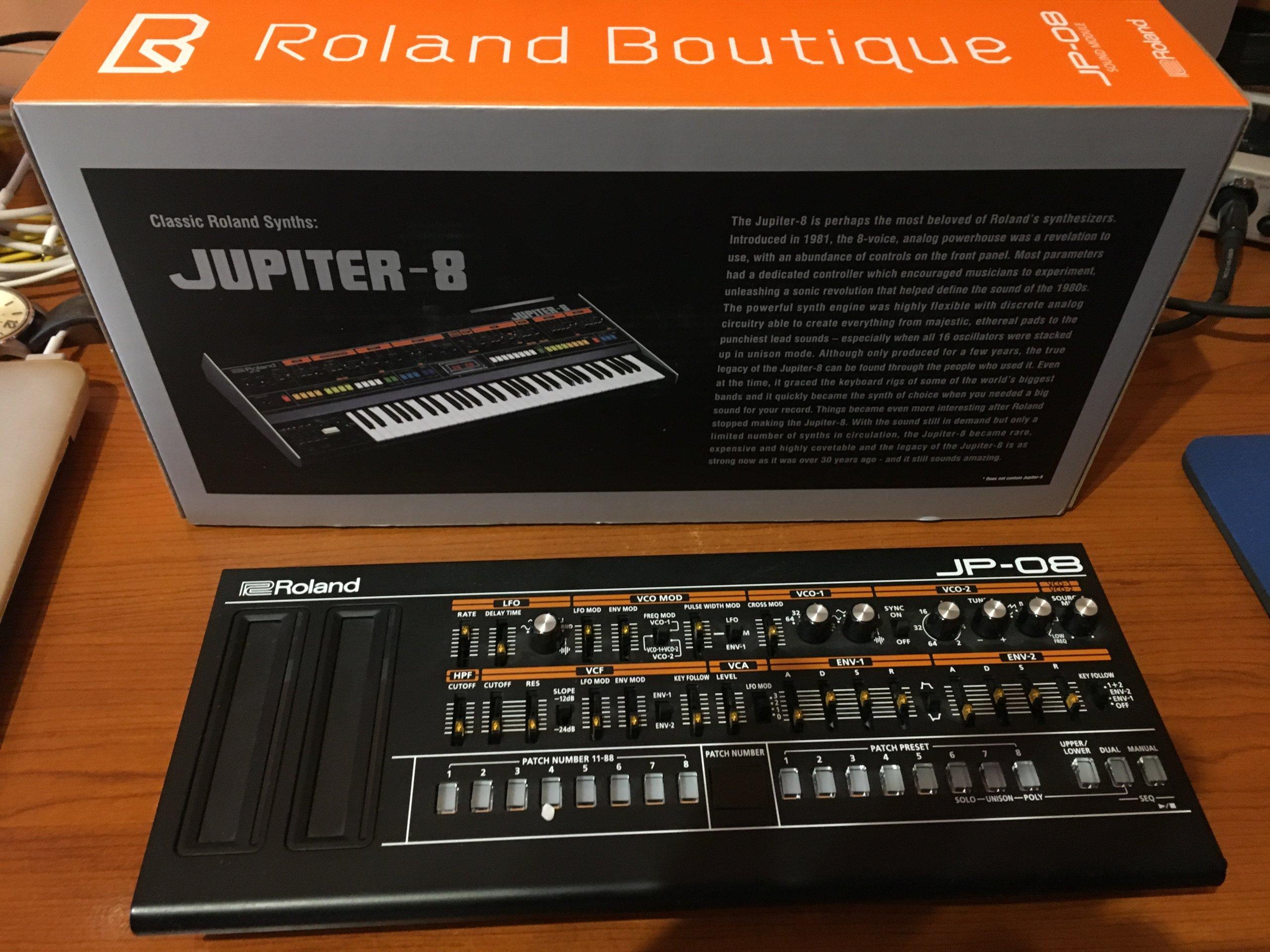 Roland Boutique JP 08 jak NOWY!!!!! Jupiter 8