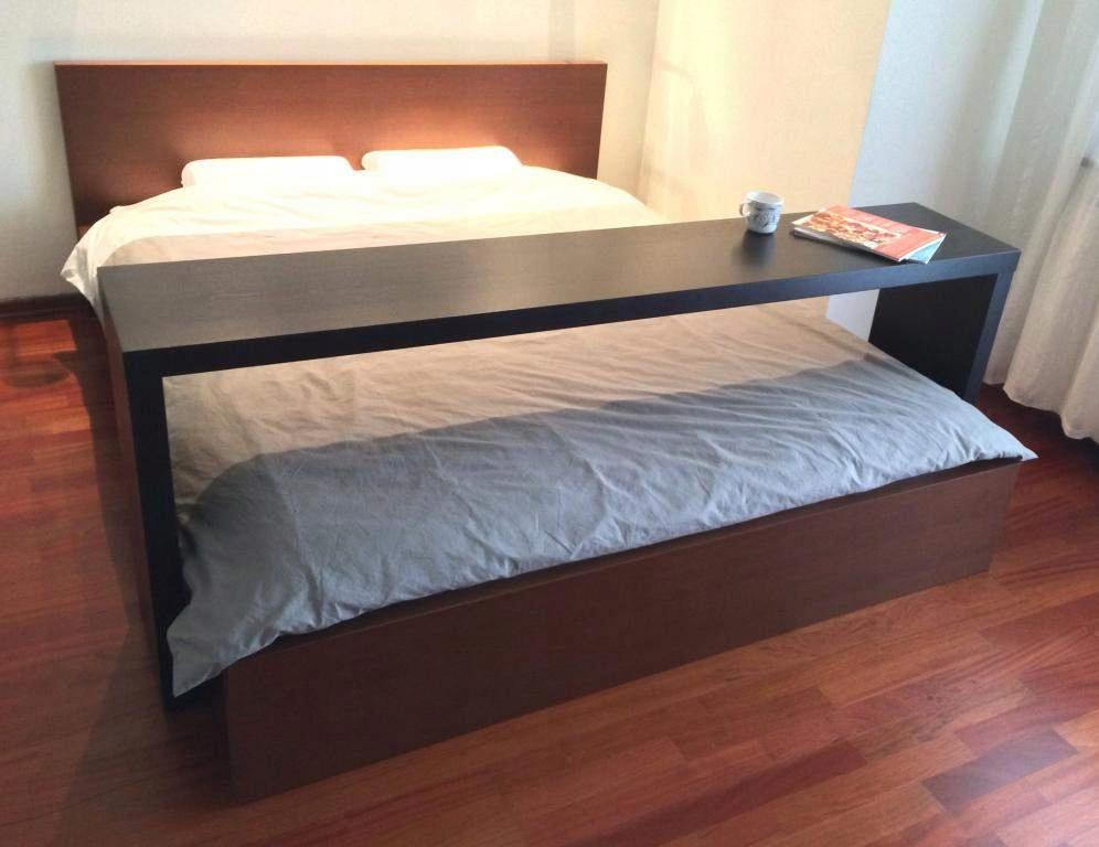 Ikea Nadstawka Na łóżko Malm średni Brąz 7601571322
