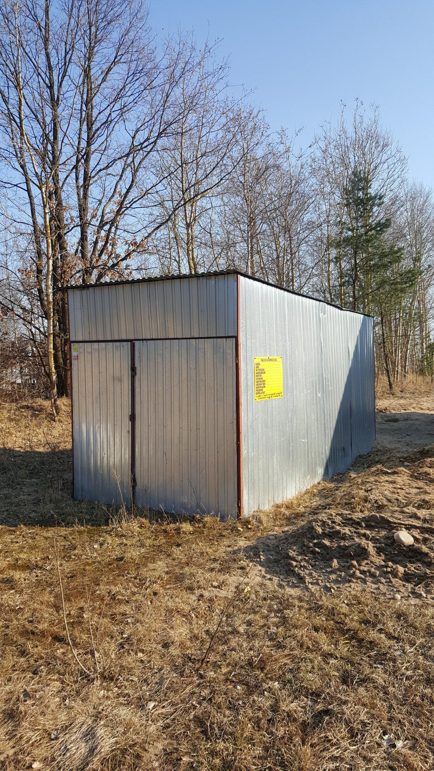 Inteligentny Blaszak Garaż blaszany wysoki długi 5x 2,5 - 7403126972 NL94