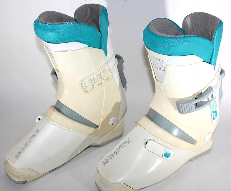 Buty narciarskie SALOMON SX61 HTC WHITE 40 X362