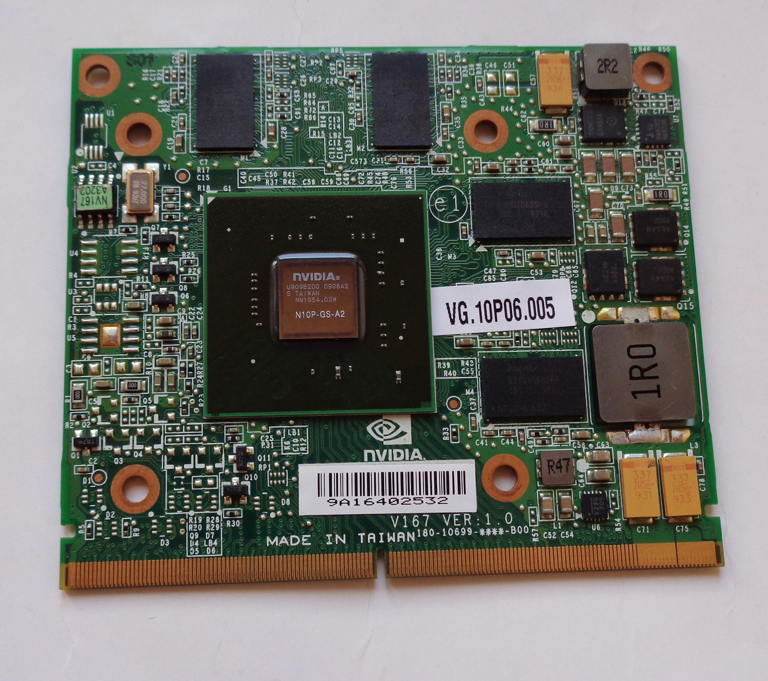 Karta Graficzna Acer Aspire 5739g Nvidia Gt240m 1g 7197907098