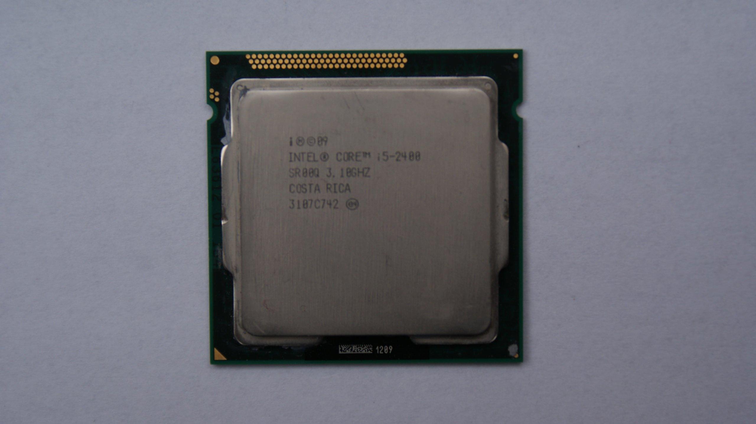 INTEL Core i5-2400 3.1 GHz + pasta gw12m-cy KRK