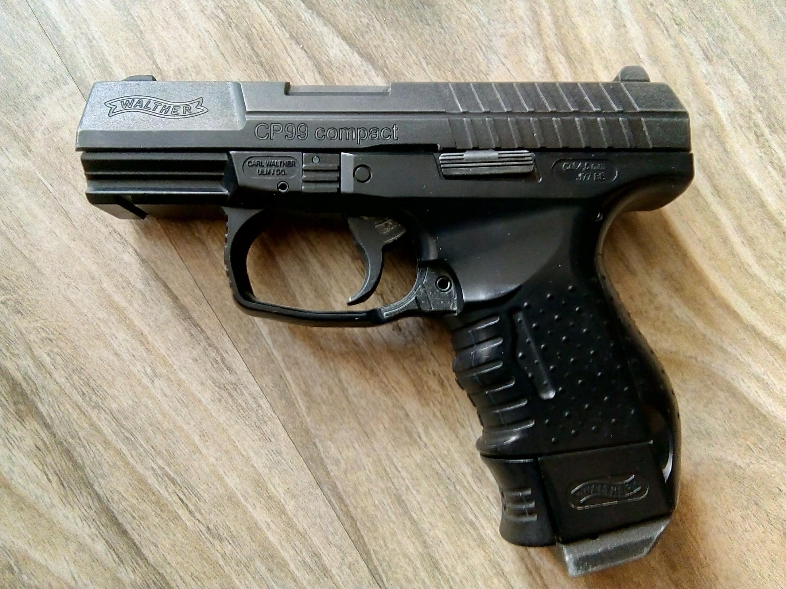 Wiatrówka Walther CP99 Compact Blow-Back 4,5mm