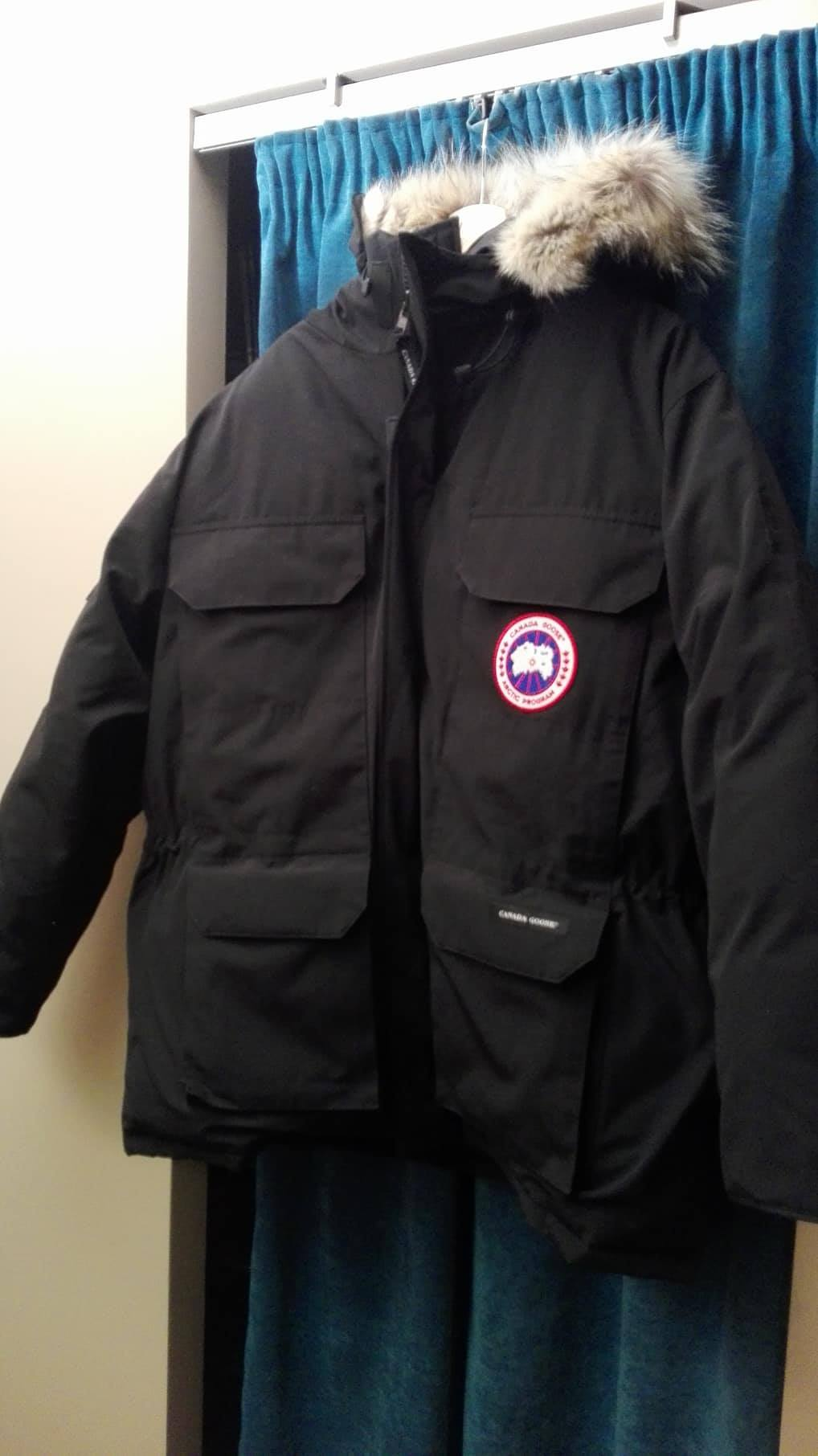 canada goose Expedition czarne