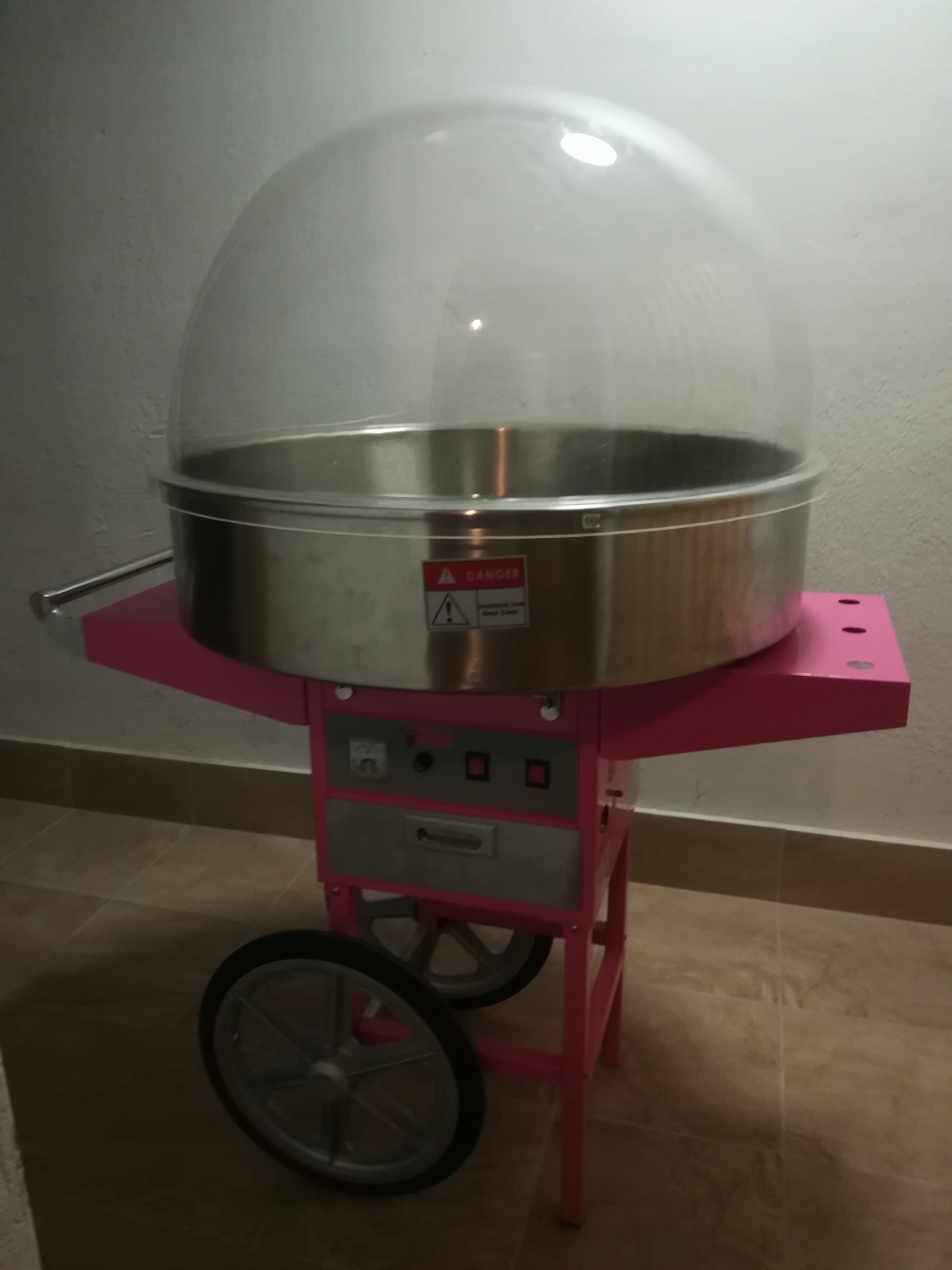 Maszyna do waty cukrowej Royal Catering misa 72cm