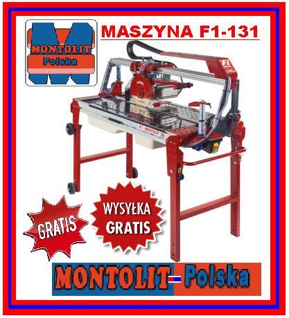 Wszystkie nowe MONTOLIT-POLSKA MASZYNA ELEKTRYCZNA F1-131 WODNA - 7084042191 YC97