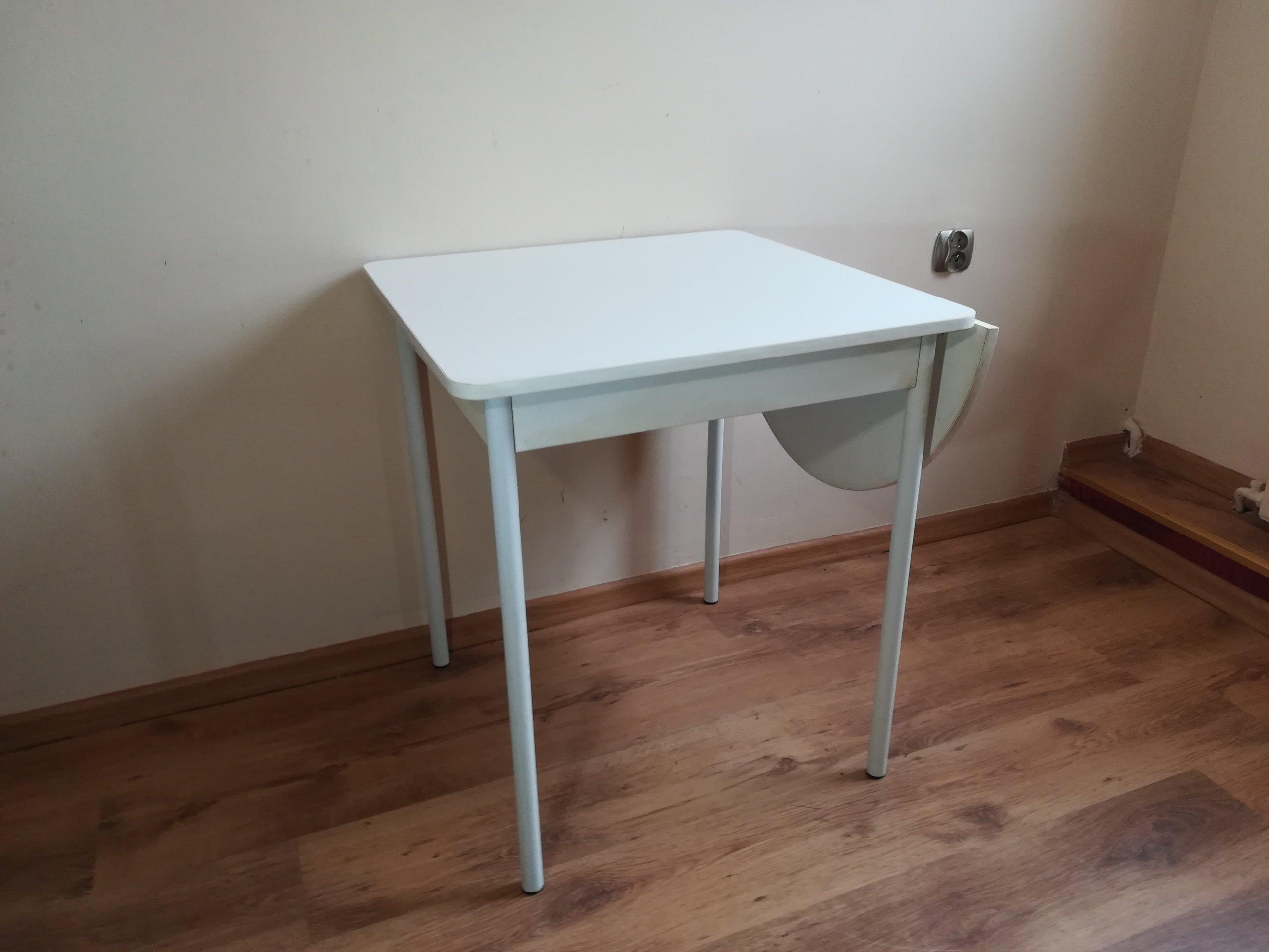 Stół Stolik Rozkładany Do Kuchni Kuchenny Retro 7185165672