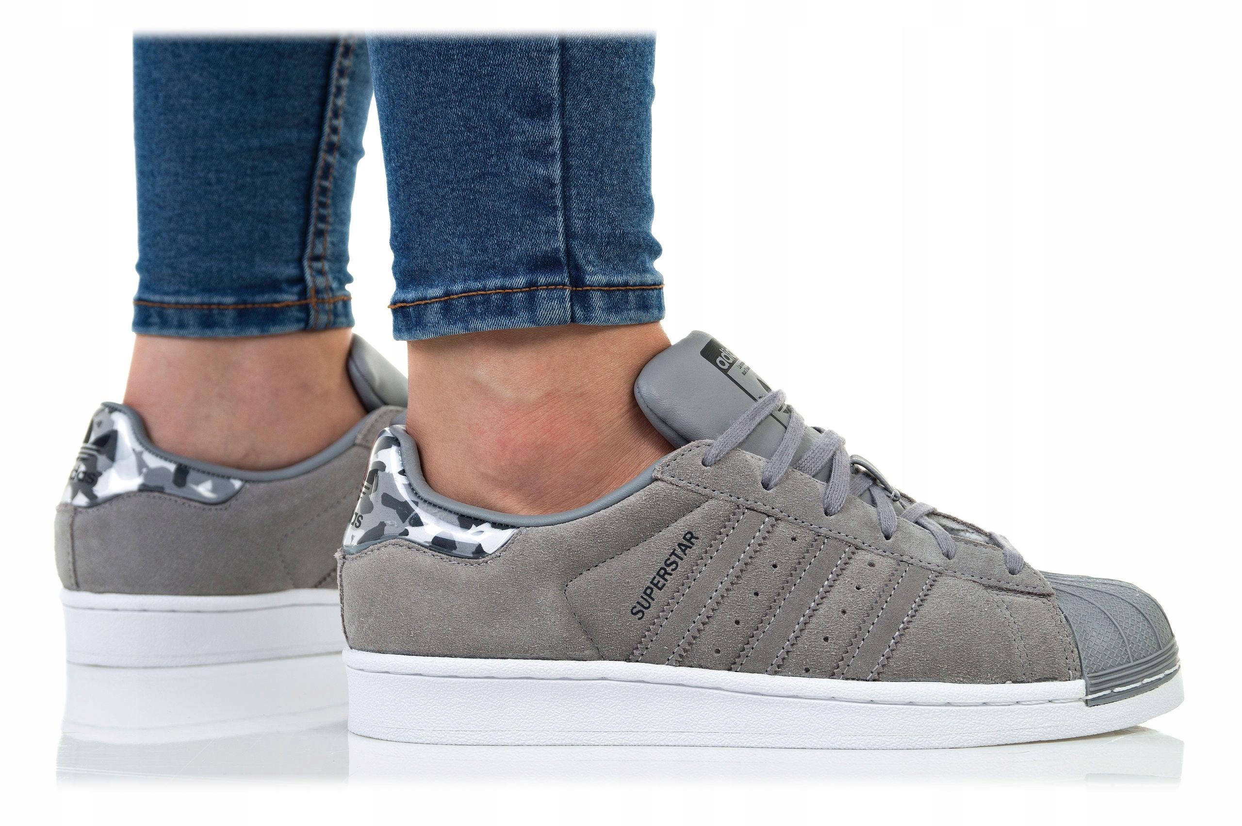 adidas Originals Buty Superstar Buty męskie szare w