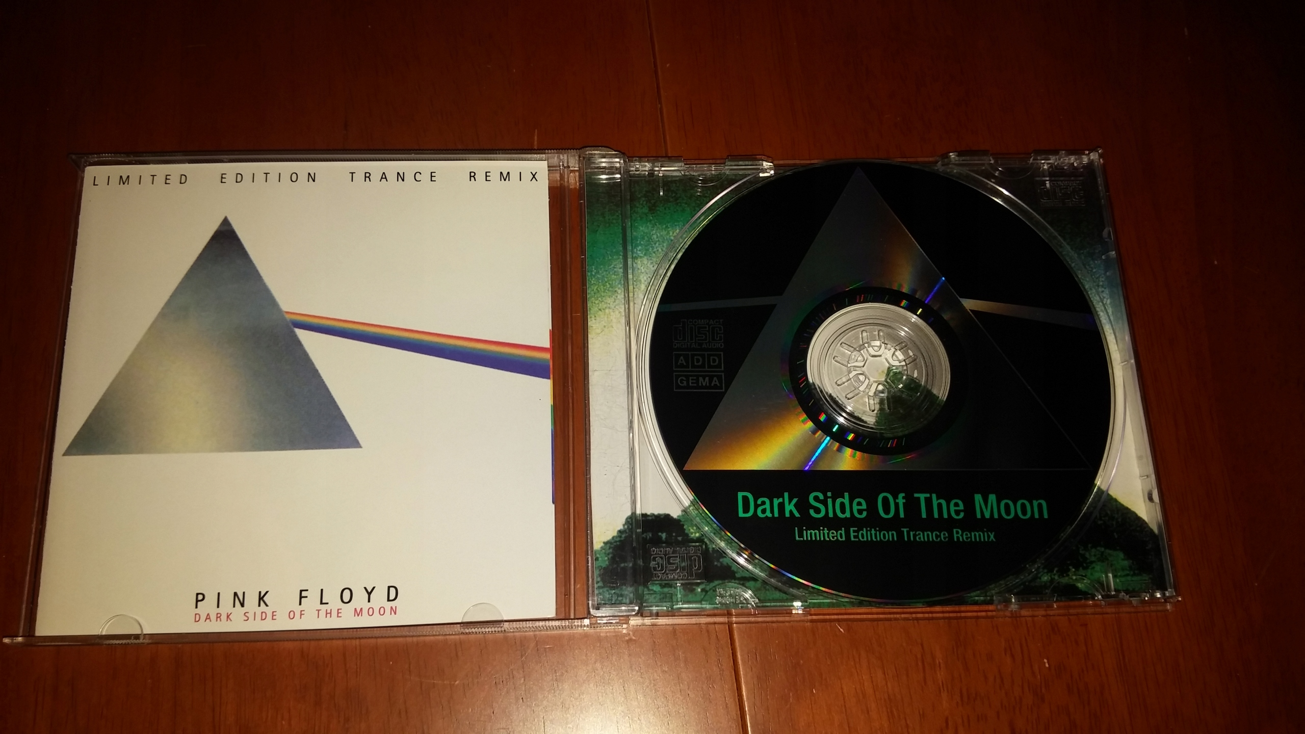 PINK FLOYD, Dark Side Of The Moon Trance Remix