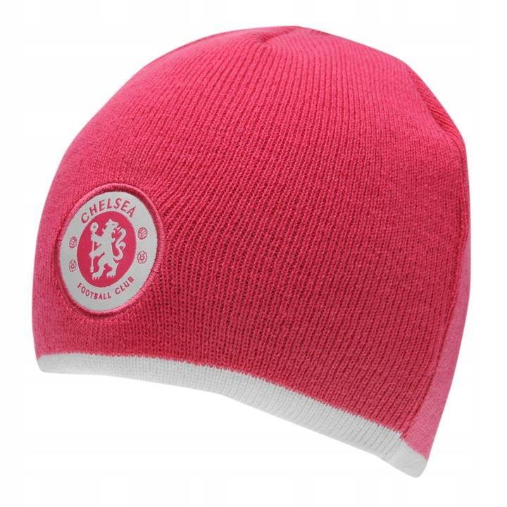 c1e41db6e Czapka zimowa Chelsea Londyn Różowa Damska - 7592715532 - oficjalne ...