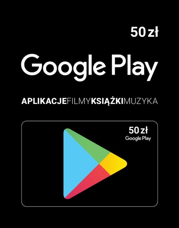 Karta Upominkowa Google Play 50 Zl Kod Do 10 Min 7067821808