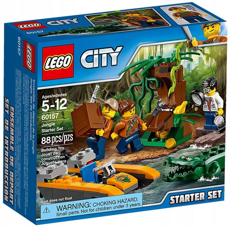 Lego Startowy Zestaw 88e Dżungla City 60157 Klocki SpGMjLqzVU
