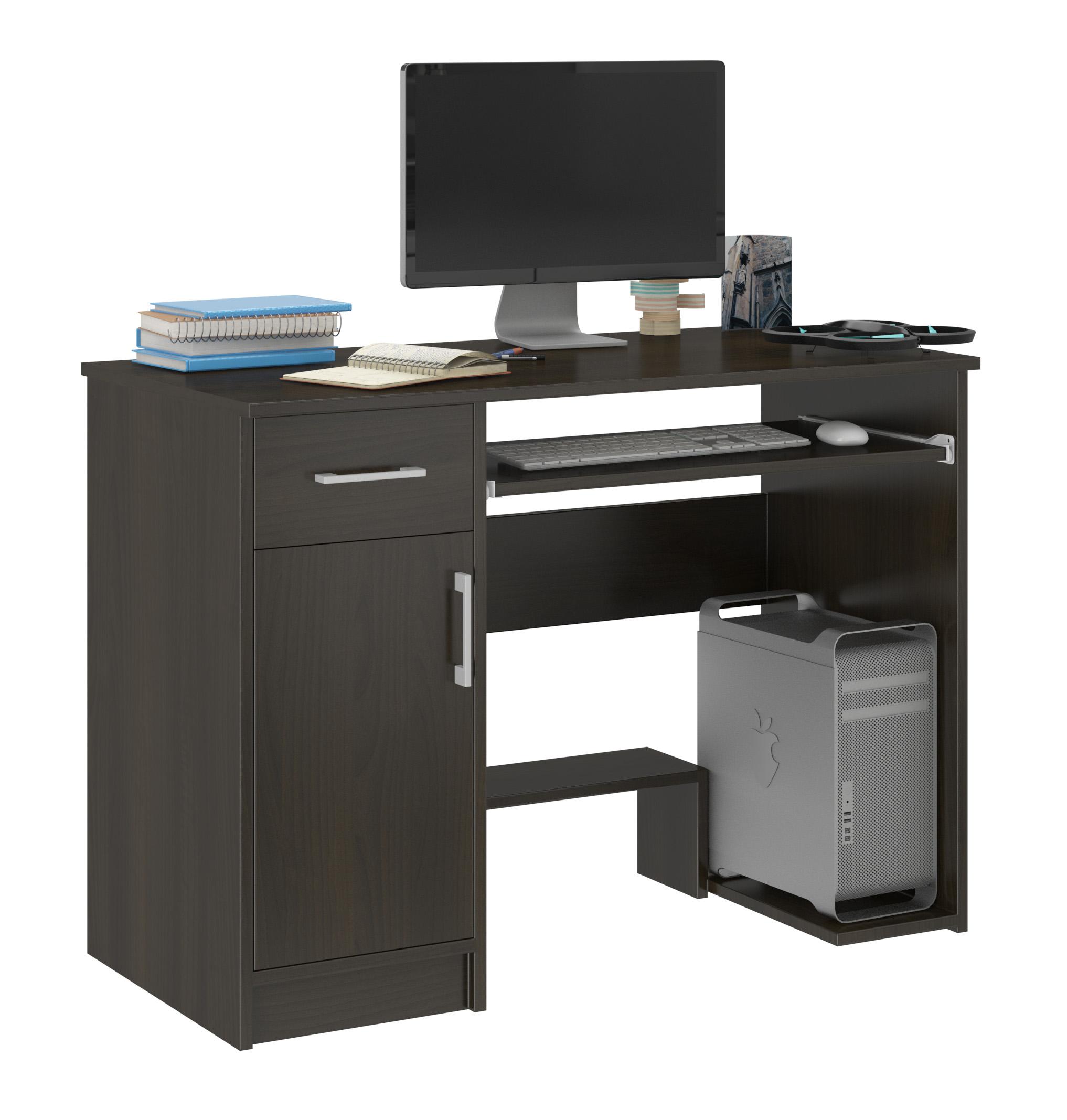 Biurko Komputerowe 90cm Stolik Laptop Wenge N 10