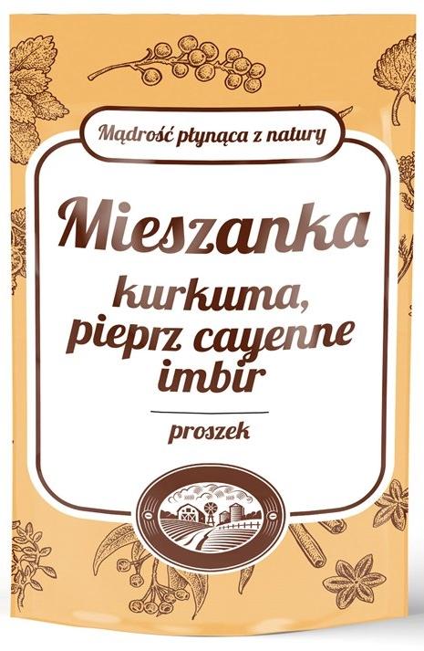 MIESZANKA Kurkuma, pieprz cayenne, imbir NCN 100g