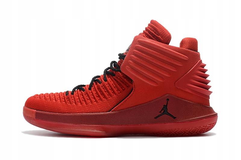 Buty Nike Air JORDAN XXXII HI Czerwone r.43