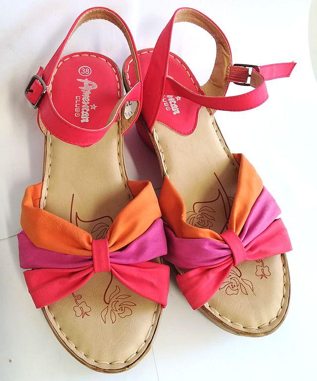 Sandały damskie AMERICAN CLUB 38 buty klapki