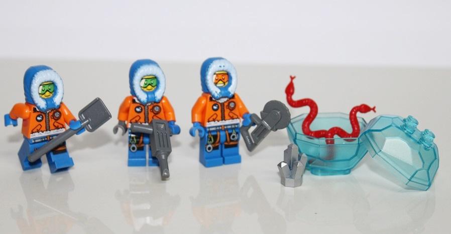 Lego Arctic Arktyka Figurki Ludziki Pakiet 7308697738 Oficjalne