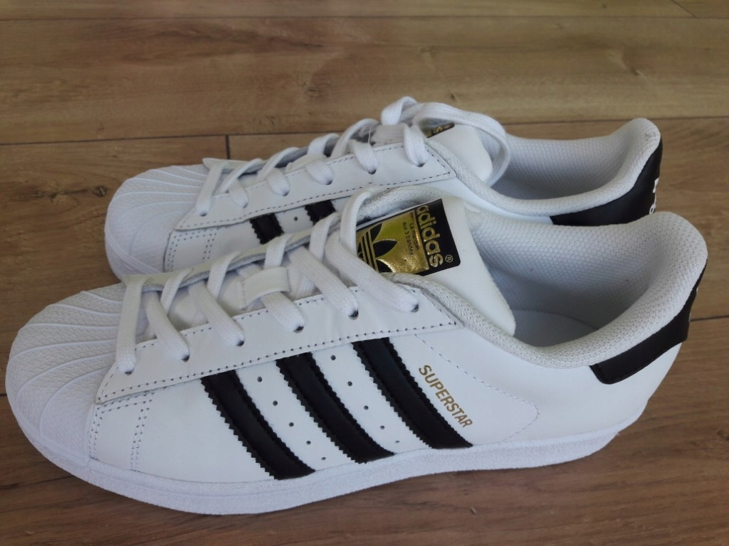 tanio na sprzedaż dobra obsługa najlepszy hurtownik Nowe Oryginalne buty Adidas Superstar Damskie 38 ...