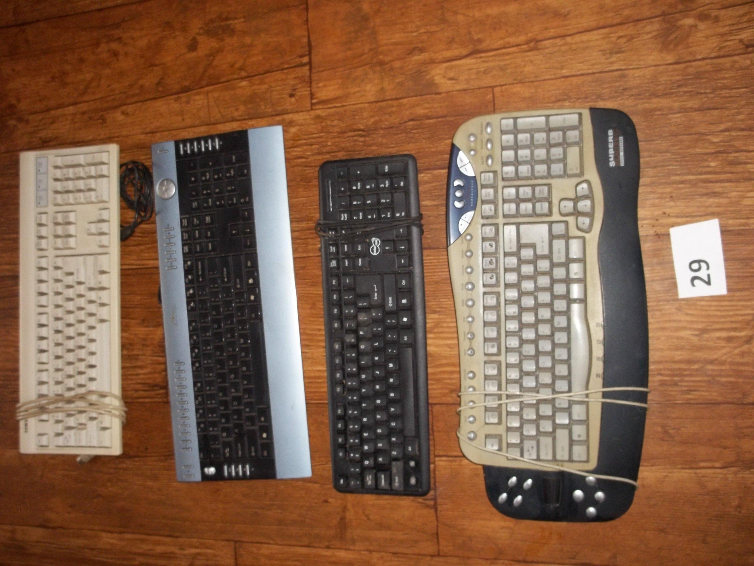 1b09082bbe ZESTAW mega paka klawiatura klawiatury 4 SZT (29) - 7380133979 ...