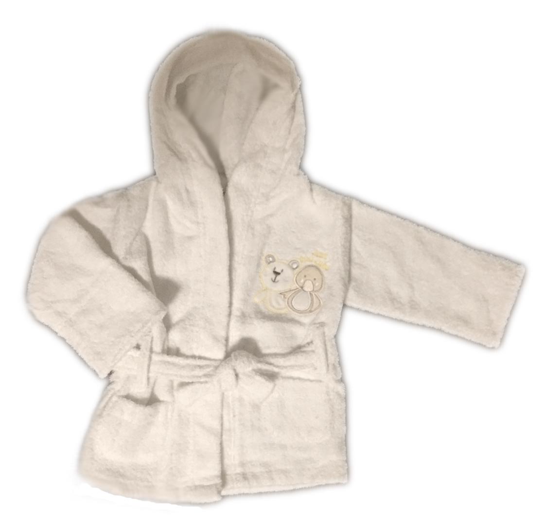 f6093f04d485f5 Szlafrok-Ręcznik z kapturem dla noworodka 0+ - 7288153520 ...