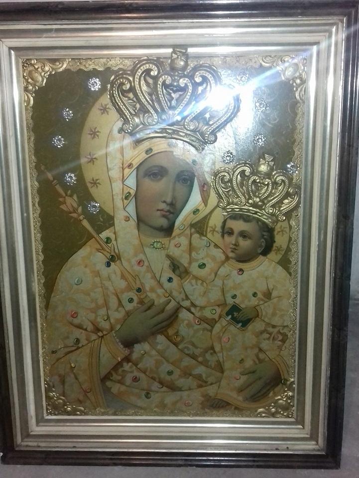 Oryginał Obraz Matka Boska z Dzieciątkiem - 7676374512 - oficjalne archiwum QQ03