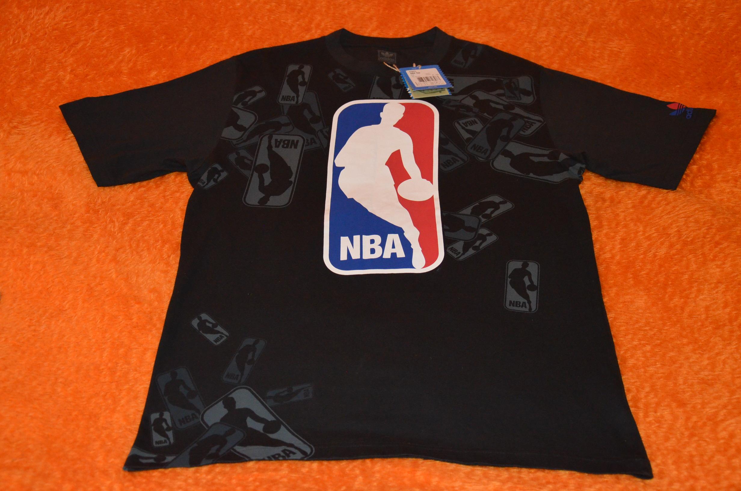 obuwie wyprzedaż w sklepie wyprzedażowym uroczy NBA KOSZULKA ADIDAS ORIGINALS LOGO NBA