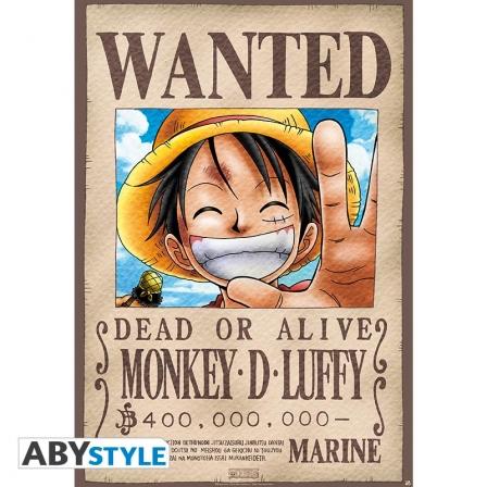 Plakat One Piece Luffy 98x68cm Sklep Warszawa 6749866972