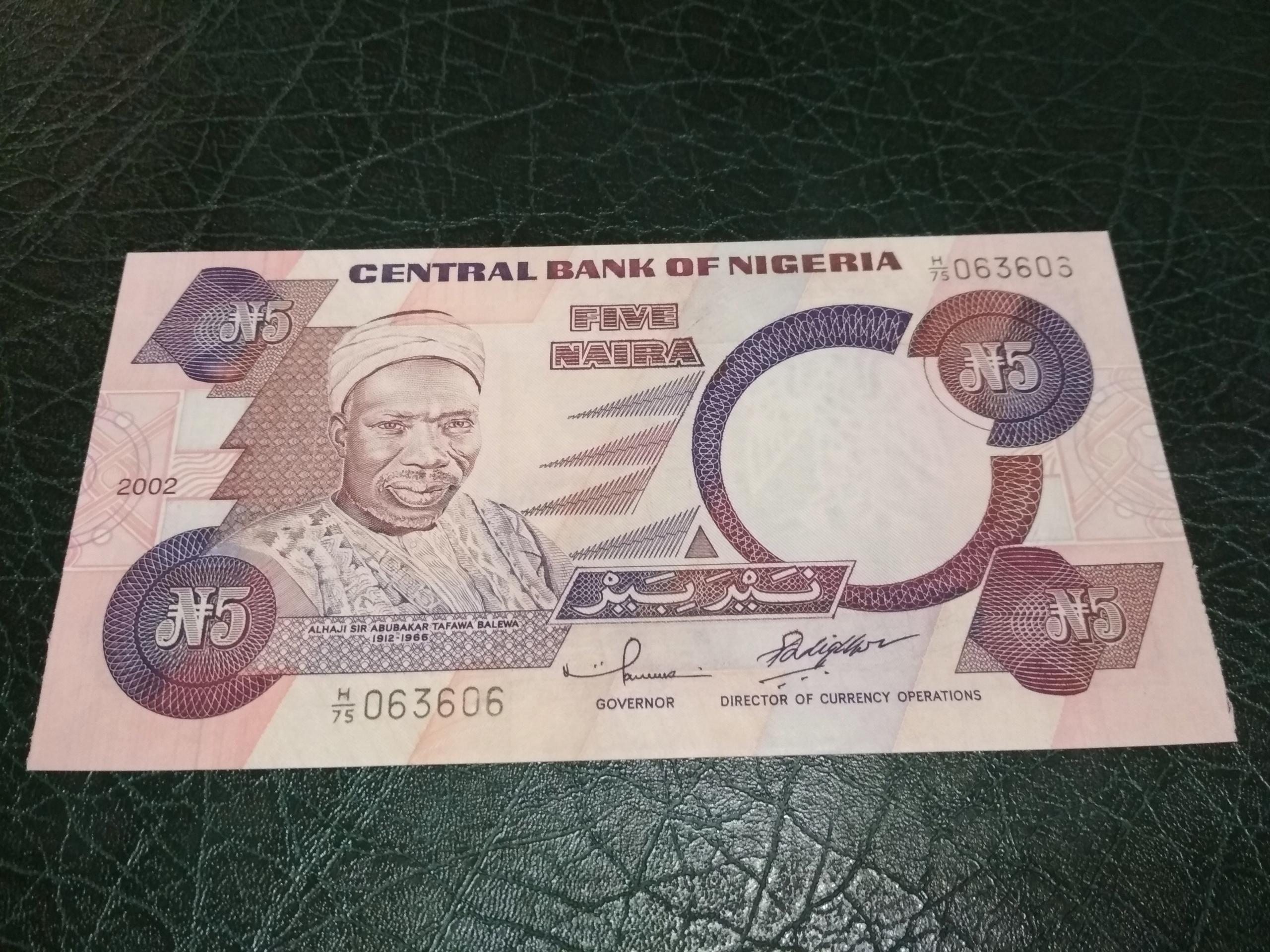 Podłączenie Nigeria
