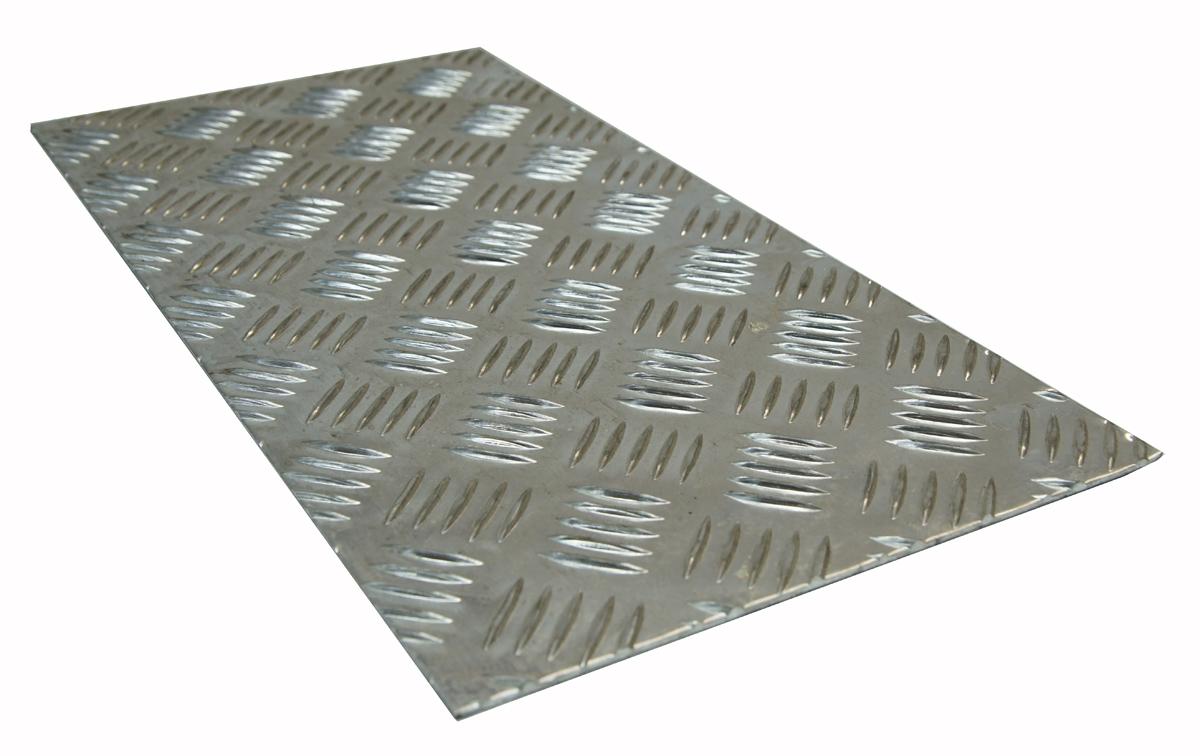BLACHA ALUMINIOWA RYFLOWANA 1000 x 400 x 2 mm