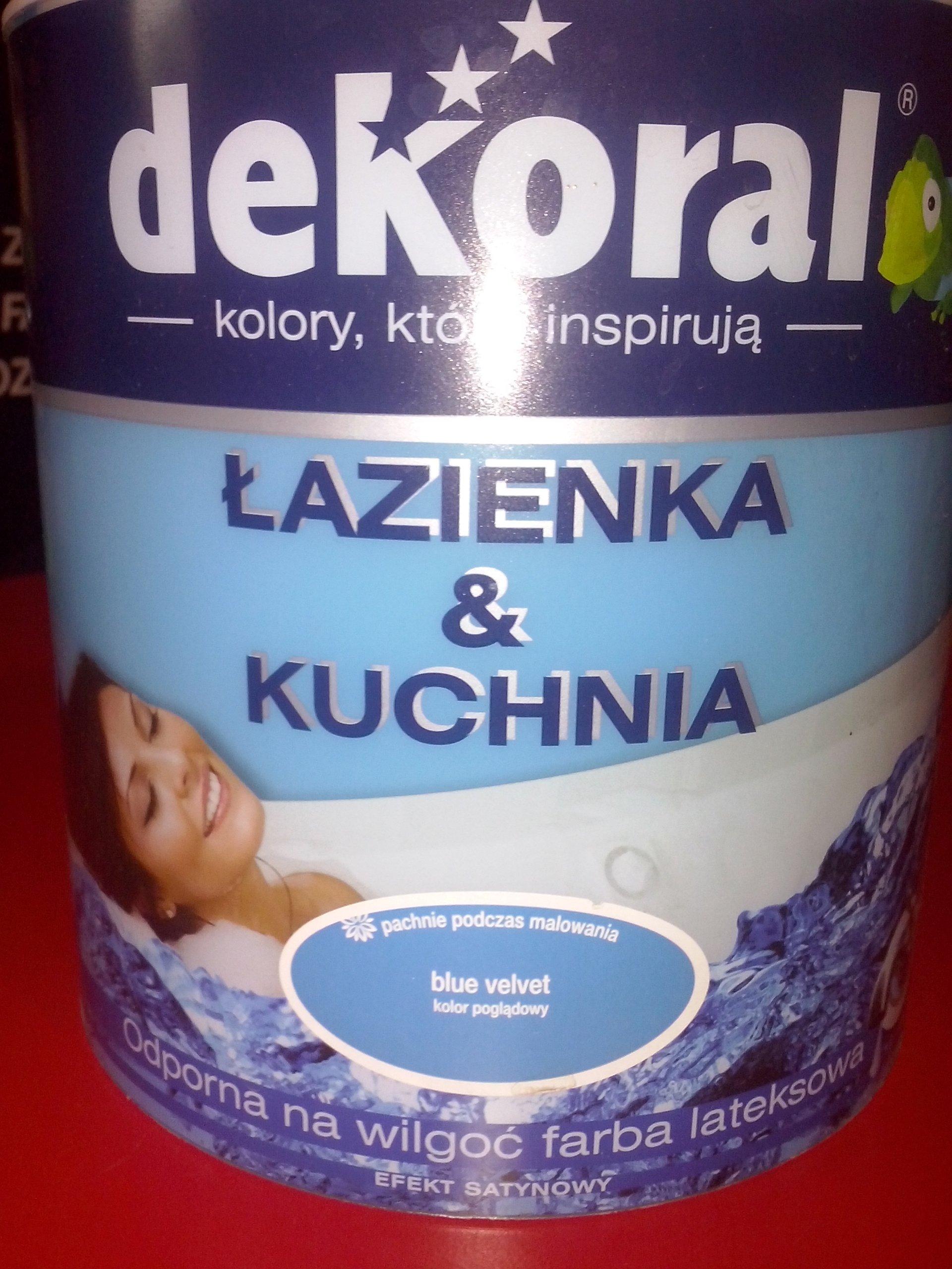Dekoral Kuchnia łazienka Blue Velvet 25l 60 7183166008
