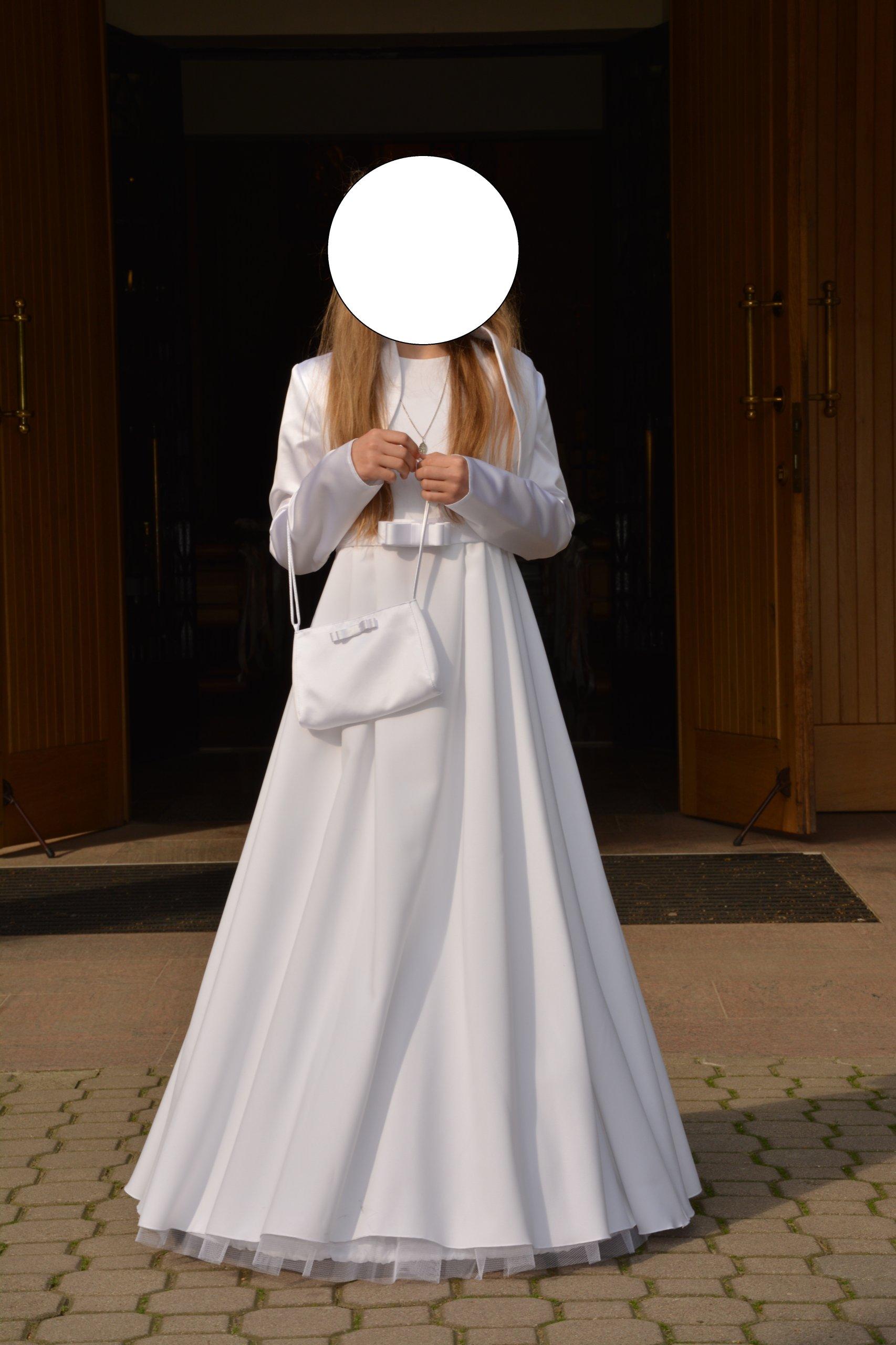 657ddec01f Sukienka komunijna IZA Emmi Mariage rozm.134 140 - 7243511692 ...