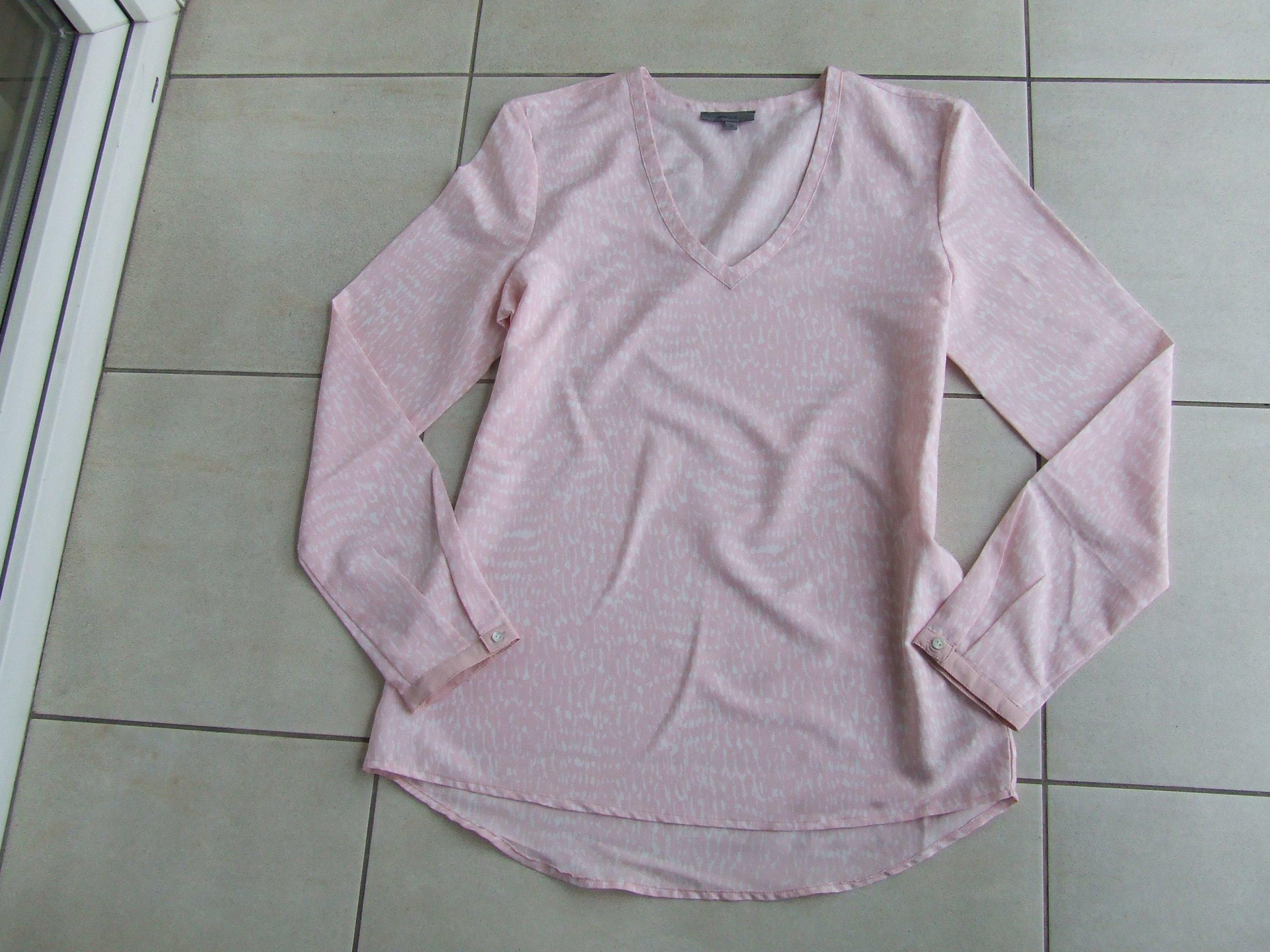 b444239edcde2 MONTEGO śliczna bluzka 36 blady pudrowy róż - 7354192327 - oficjalne ...