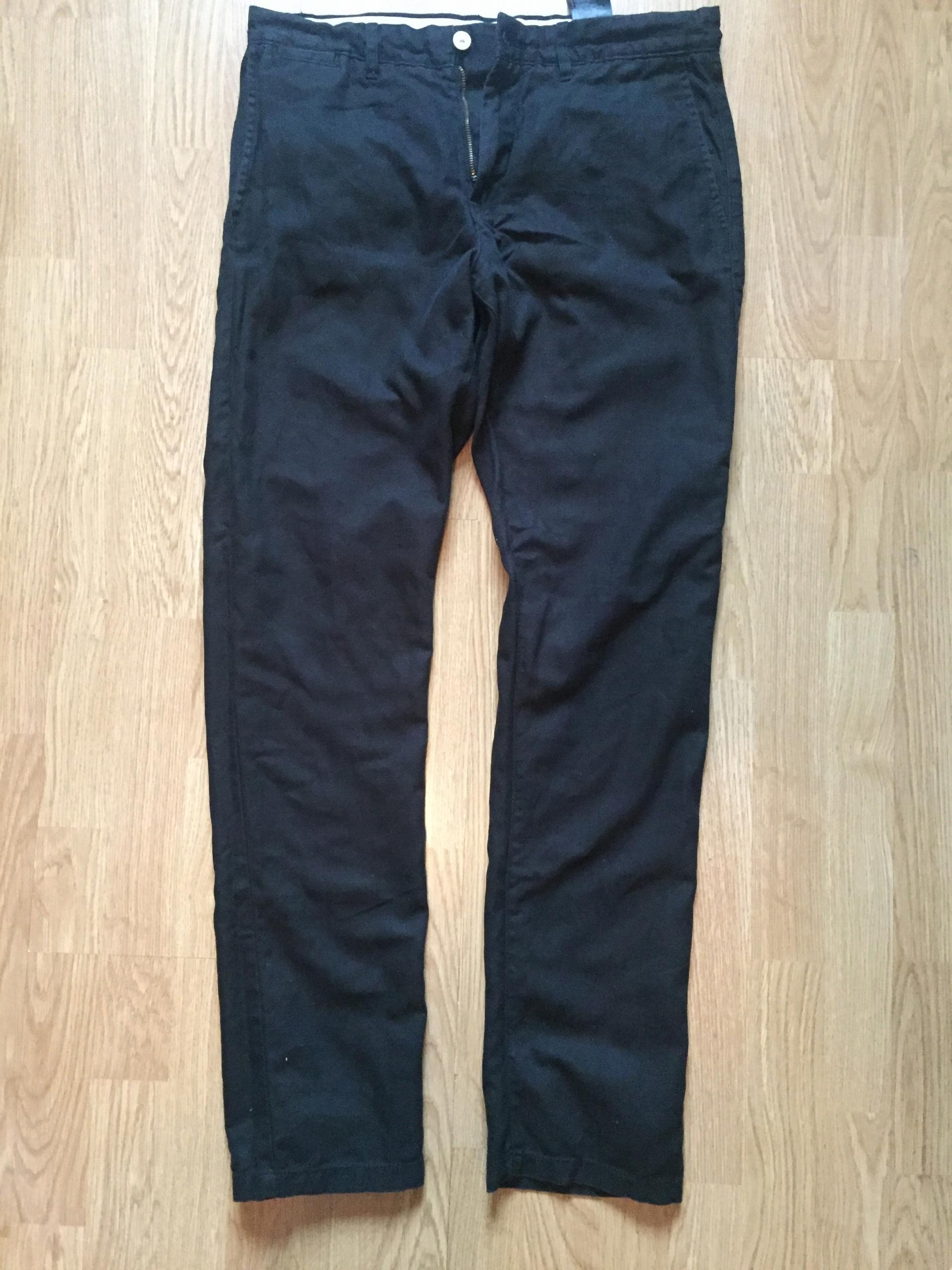 c686edc244136 spodnie męskie H&M 32 len lniane bawełna - 7482746436 - oficjalne ...